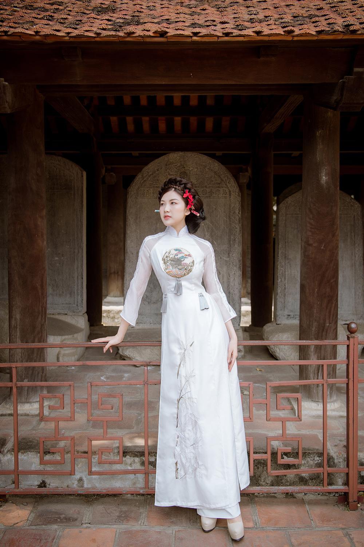 Trước thềm Tết Tân Sửu 2021, diễn viên Lương Thanh tung bộ hình áo dài đậm chất xuân Ảnh 12