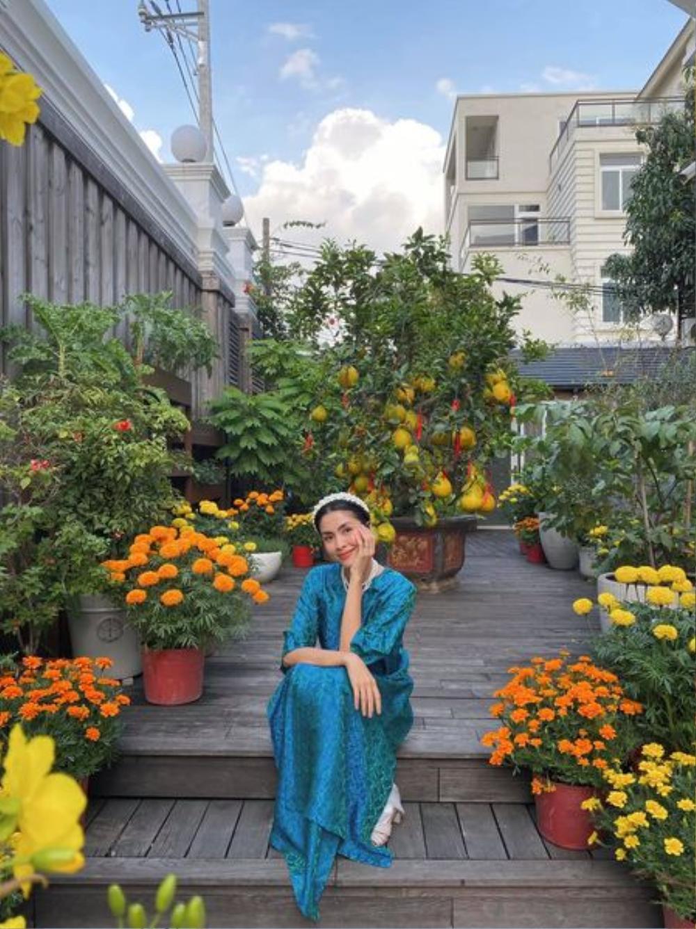 Sao Việt trang trí nhà cửa đón Tết: Ngọc Trinh - Bảo Thy chơi trội, Hà Tăng đơn giản nhưng vẫn 'xịn xò' Ảnh 11