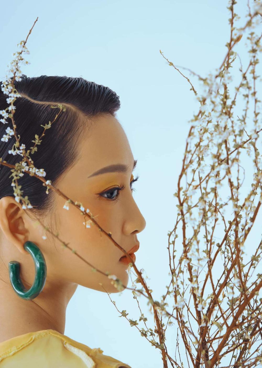 Juky San hoá nàng thơ tao nhã, đẹp thoát tục mơ màng giữa tiết Xuân Ảnh 11