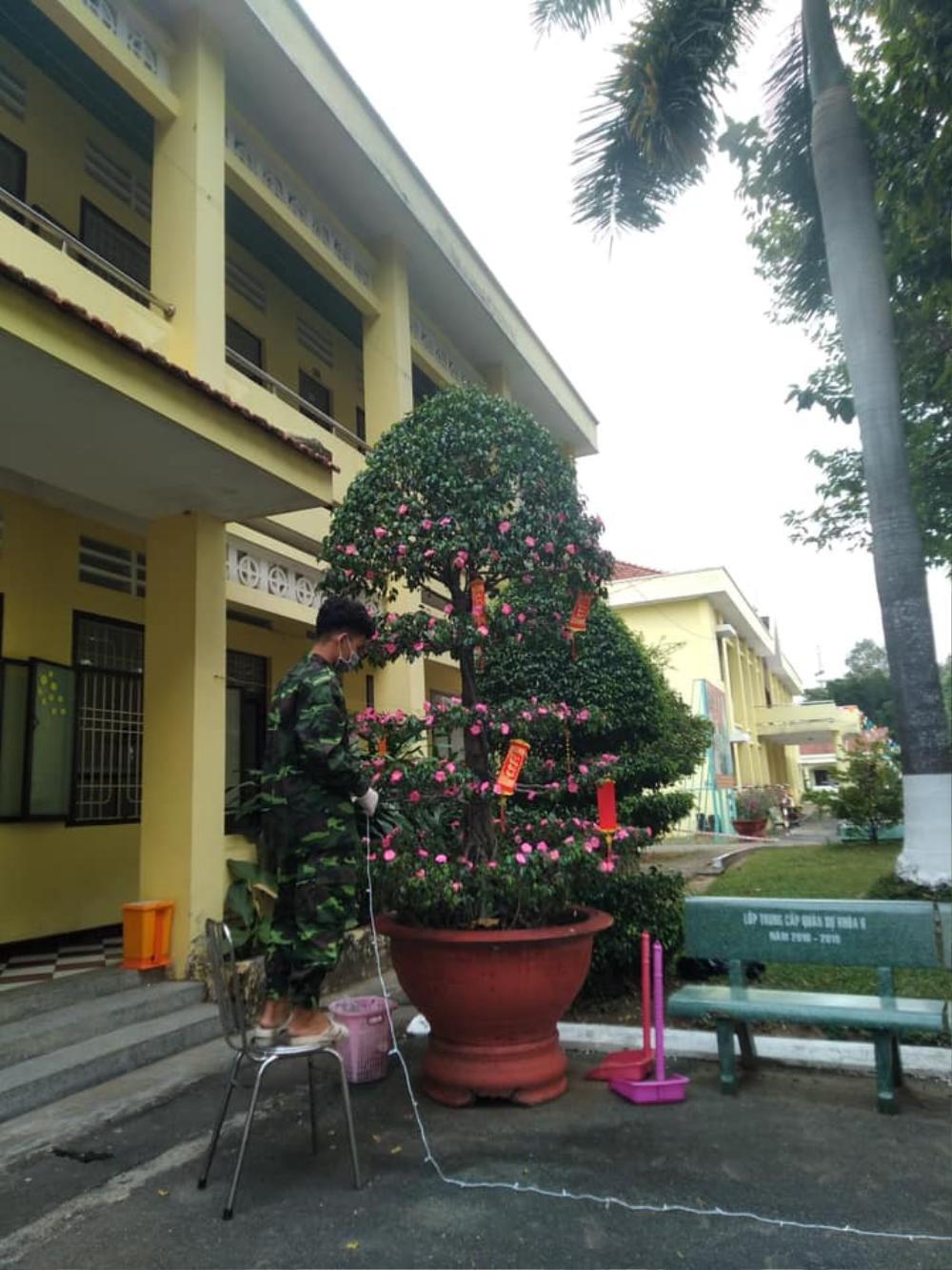 Tết đặc biệt của sinh viên Đại học Thủ Dầu Một trong khu cách ly Ảnh 8