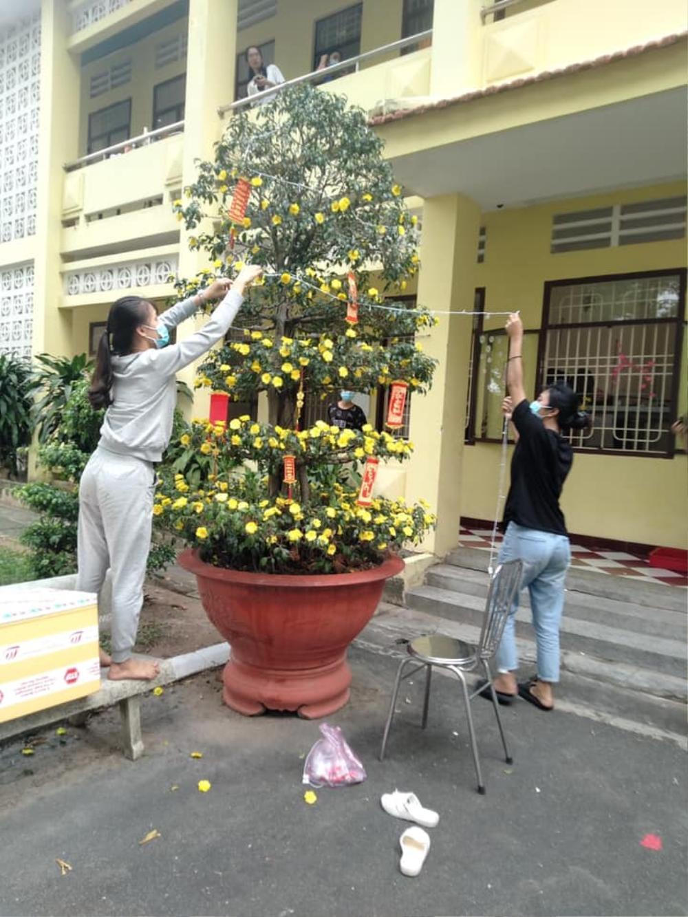 Tết đặc biệt của sinh viên Đại học Thủ Dầu Một trong khu cách ly Ảnh 2