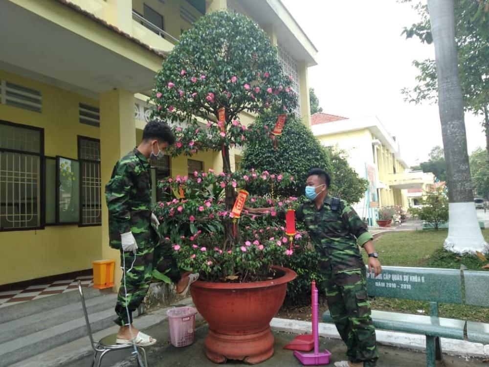 Tết đặc biệt của sinh viên Đại học Thủ Dầu Một trong khu cách ly Ảnh 7