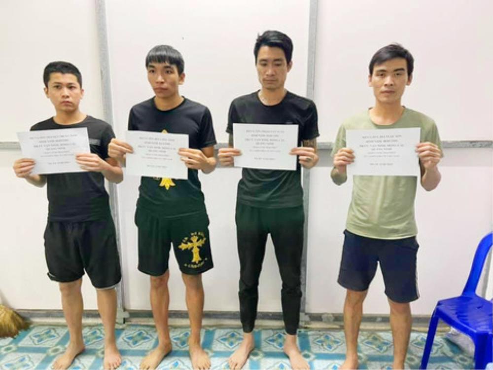 4 thanh niên bơi qua sông từ Campuchia nhập cảnh trái phép vào Việt Nam để về ăn Tết Ảnh 1