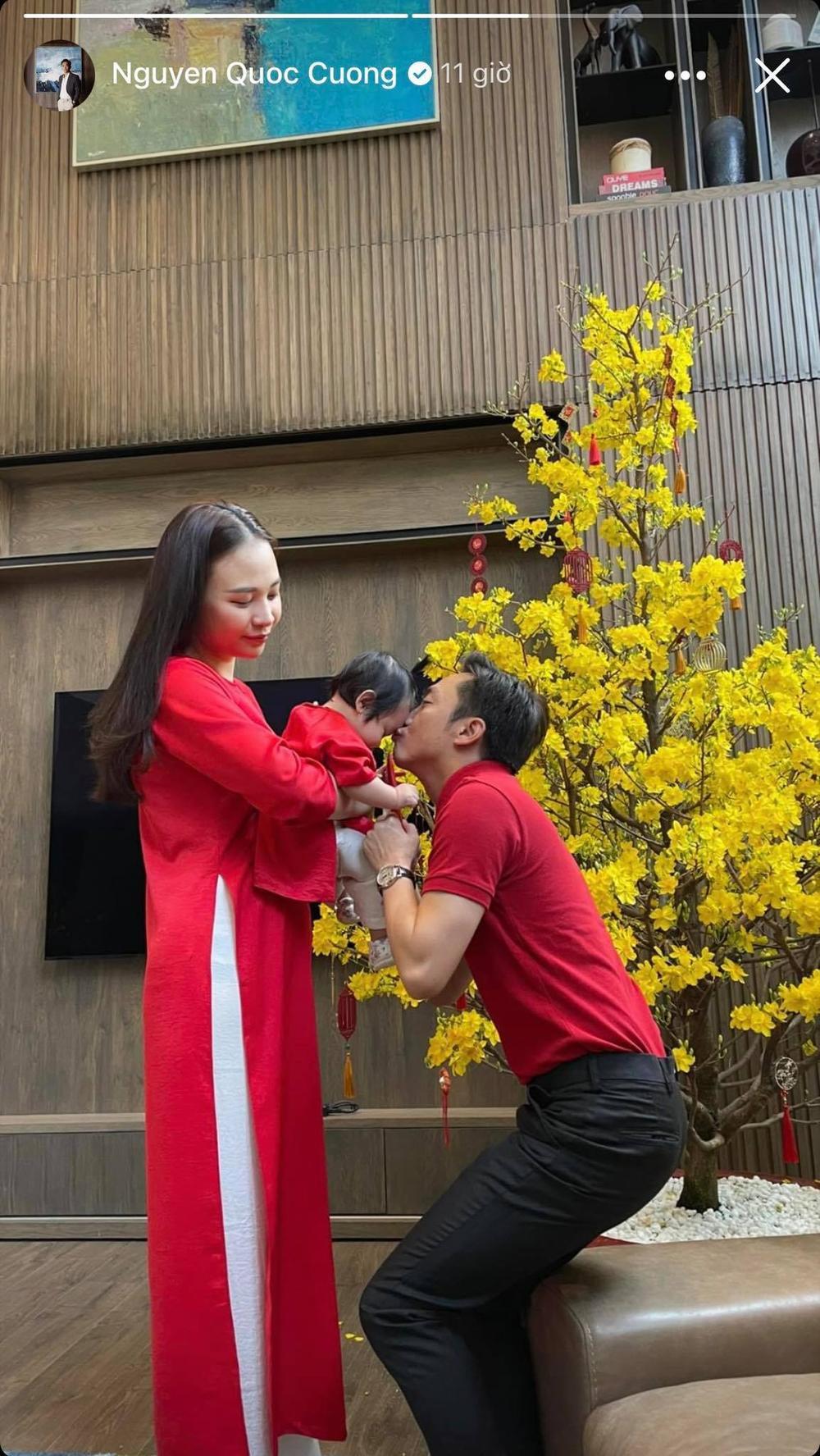 Nhóc tì nhà sao Việt diện áo dài ngày Tết: Cưng nhất hẳn là con gái Đông Nhi Ảnh 4