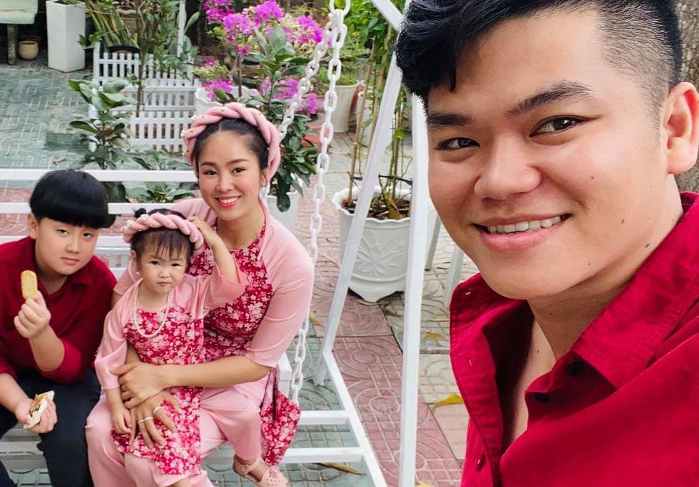 Nhóc tì nhà sao Việt diện áo dài ngày Tết: Cưng nhất hẳn là con gái Đông Nhi Ảnh 14