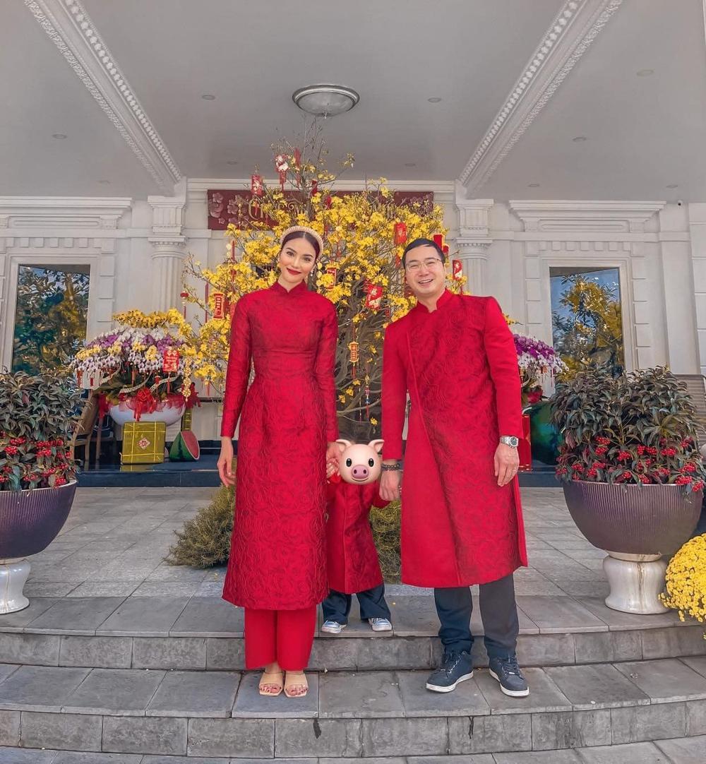 Nhóc tì nhà sao Việt diện áo dài ngày Tết: Cưng nhất hẳn là con gái Đông Nhi Ảnh 6