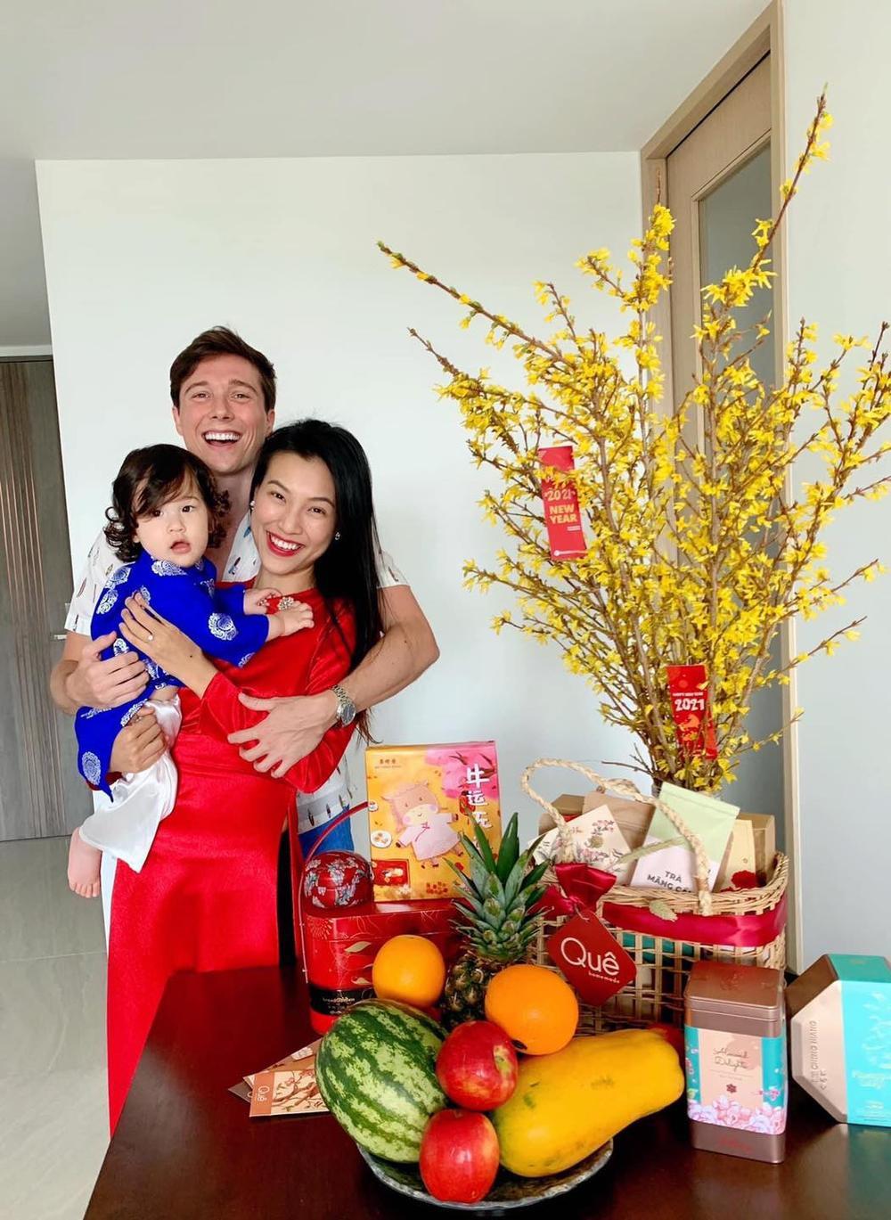 Nhóc tì nhà sao Việt diện áo dài ngày Tết: Cưng nhất hẳn là con gái Đông Nhi Ảnh 8