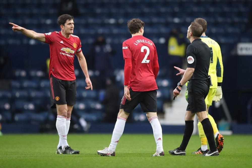 Harry Maguire tố trọng tài xử ép MU sau trận hòa bạc nhược trước West Brom Ảnh 2