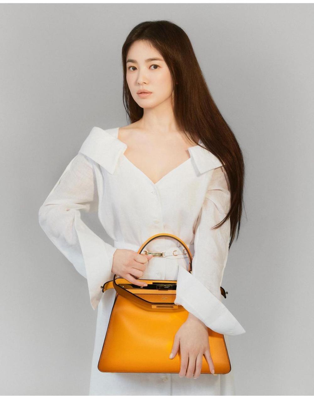Song Hye Kyo chính thức trở thành đại sứ Fendi với loạt ảnh sang - xịn -mịn Ảnh 3