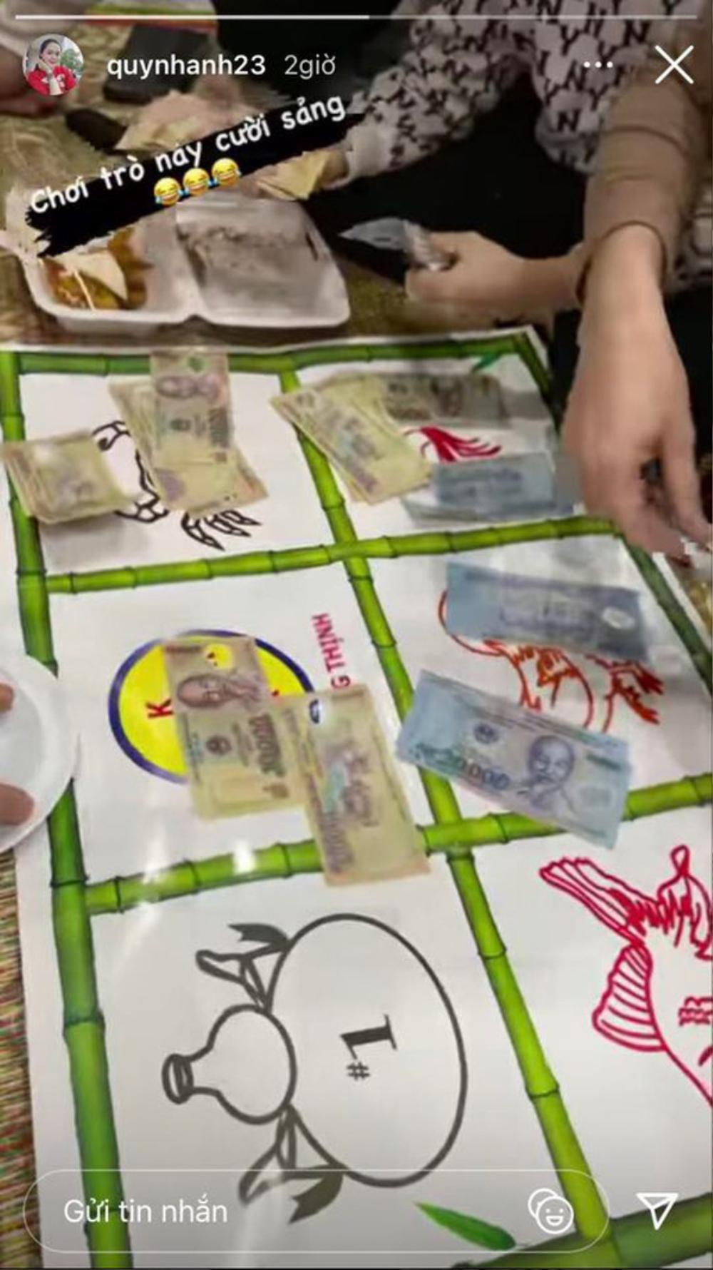 Nàng WAGs Quỳnh Anh gây tranh cãi khi khoe ảnh chơi game ăn tiền Ảnh 2
