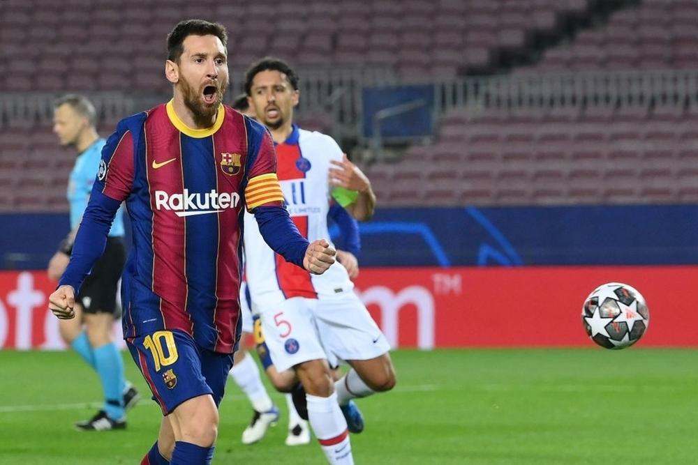 Messi cân bằng kỷ lục 'khủng', nhưng không thể cứu Barca Ảnh 1