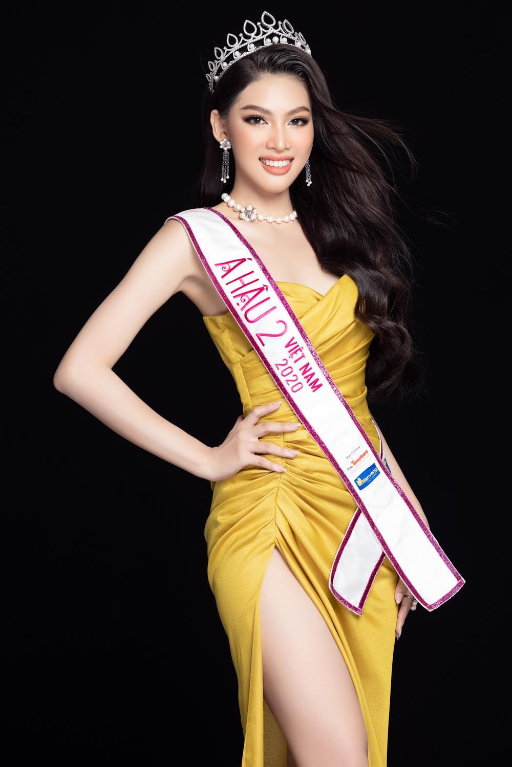 Á hậu Ngọc Thảo tung 2 mẫu National Costume hoành tráng nhờ fan vote dự thi Miss Grand Ảnh 1