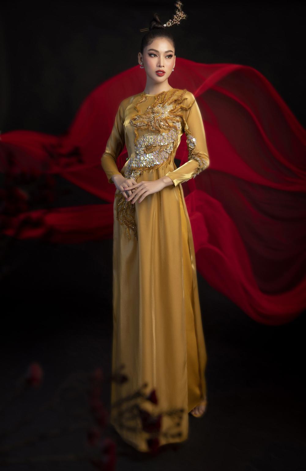Á hậu Ngọc Thảo tung 2 mẫu National Costume hoành tráng nhờ fan vote dự thi Miss Grand Ảnh 3
