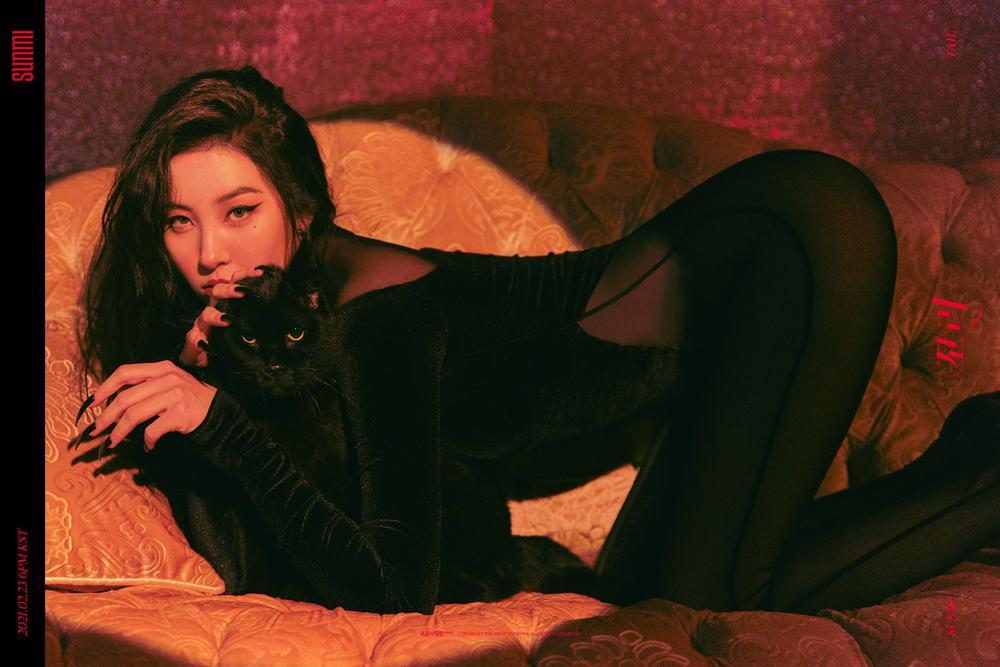 Sunmi bất ngờ hóa miêu nữ, fan tưởng vai Catwoman trong 'The Batman' Ảnh 1