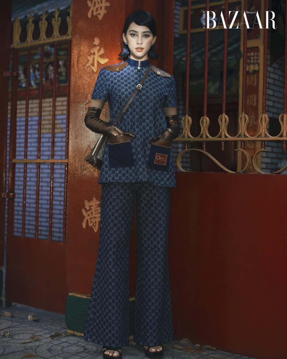 Tiểu Vy đụng Dương Mịch với set đồ hiệu, hoa hậu đẹp nhất nhì Vbiz có lấn át được đàn chị? Ảnh 4