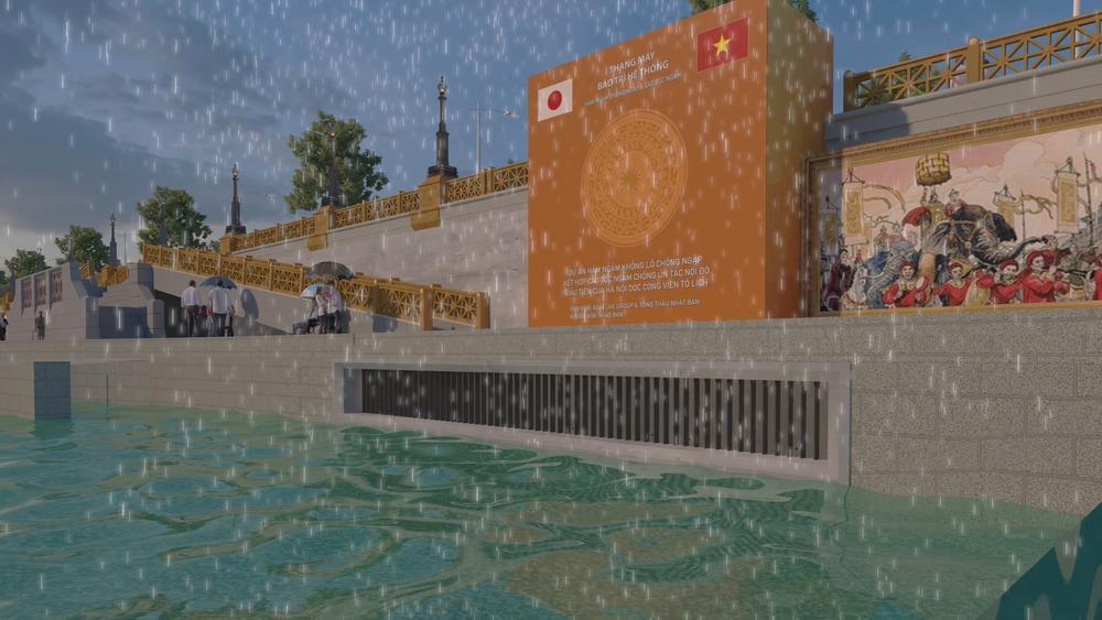 Đề xuất xây dựng hệ thống hầm ngầm khổng lồ chống ngập kết hợp cao tốc ngầm chống ùn tắc dọc sông Tô Lịch Ảnh 5