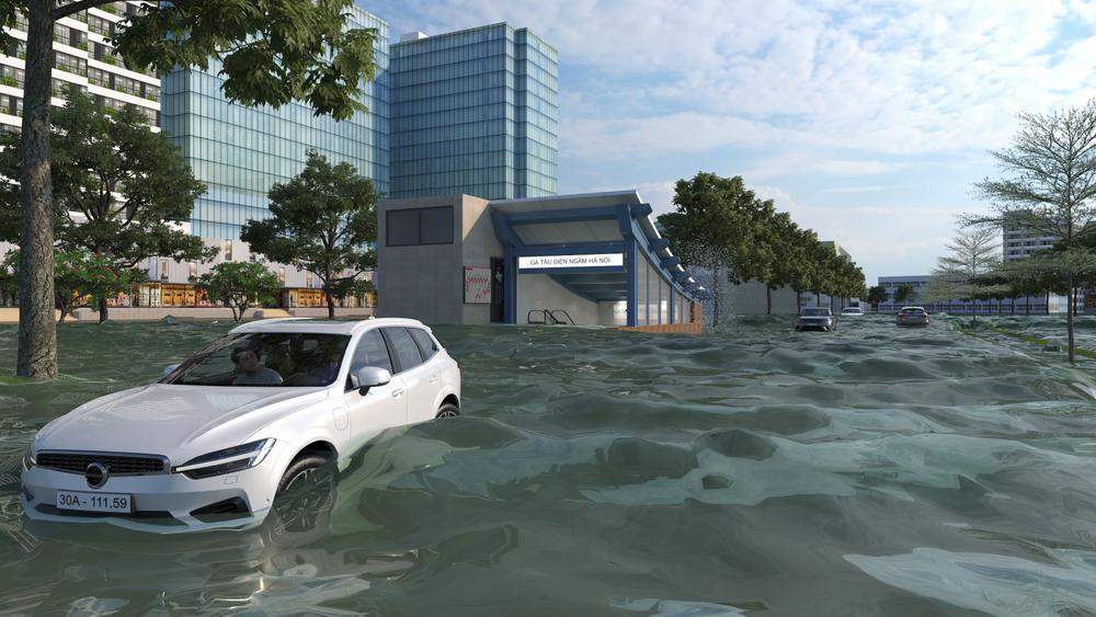 Đề xuất xây dựng hệ thống hầm ngầm khổng lồ chống ngập kết hợp cao tốc ngầm chống ùn tắc dọc sông Tô Lịch Ảnh 8
