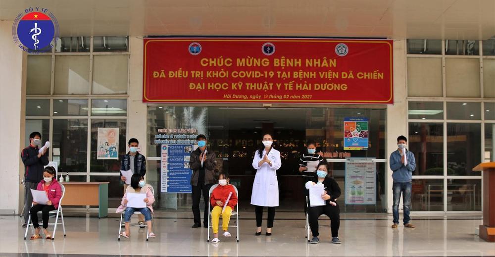 Bệnh nhi sơ sinh nhỏ tuổi nhất Việt Nam nhiễm Covid-19 khi hơn 20 ngày tuổi được công bố khỏi bệnh Ảnh 1