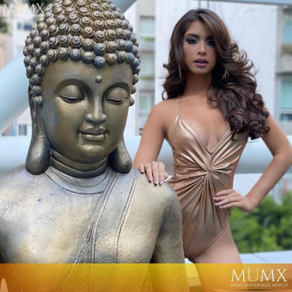 Mặc áo tắm tạo dáng, catwalk bên tượng phật, Miss Grand Mexico bị chỉ trích kịch liệt Ảnh 2