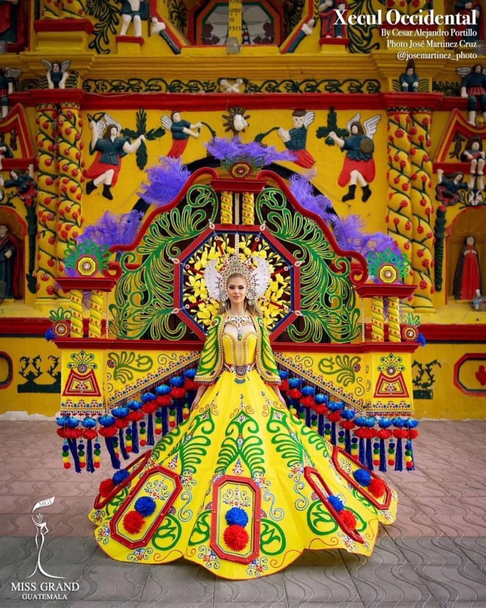 National Costume Hoa hậu Hòa bình: Indonesia - Thái Lan quá độc đáo, Guatamala hoành tráng Ảnh 7