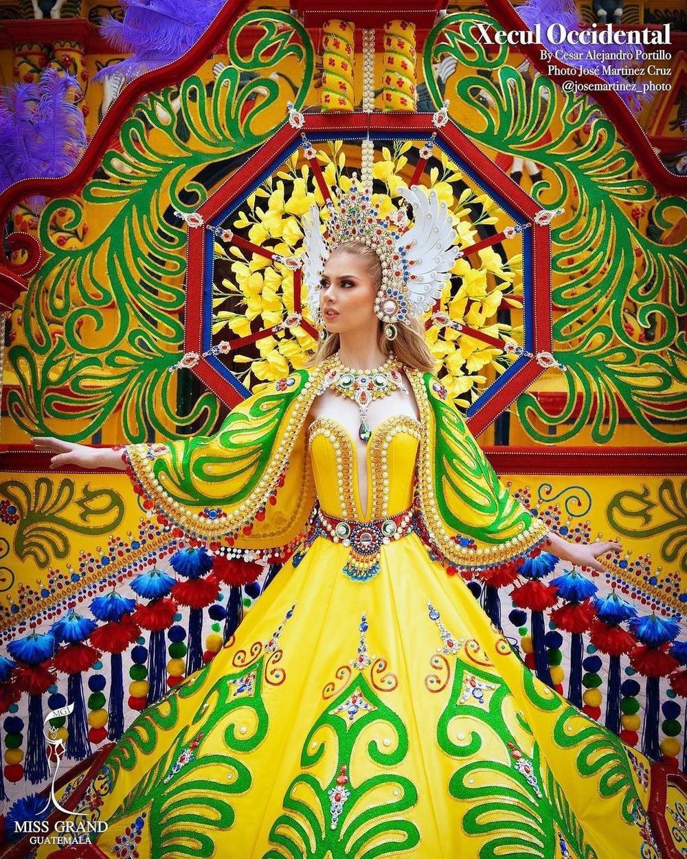 National Costume Hoa hậu Hòa bình: Indonesia - Thái Lan quá độc đáo, Guatamala hoành tráng Ảnh 5
