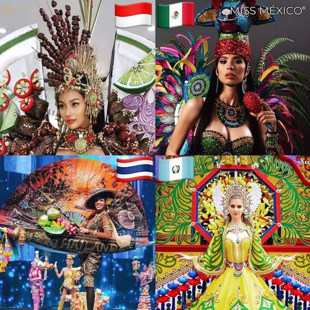 National Costume Hoa hậu Hòa bình: Indonesia - Thái Lan quá độc đáo, Guatamala hoành tráng Ảnh 1