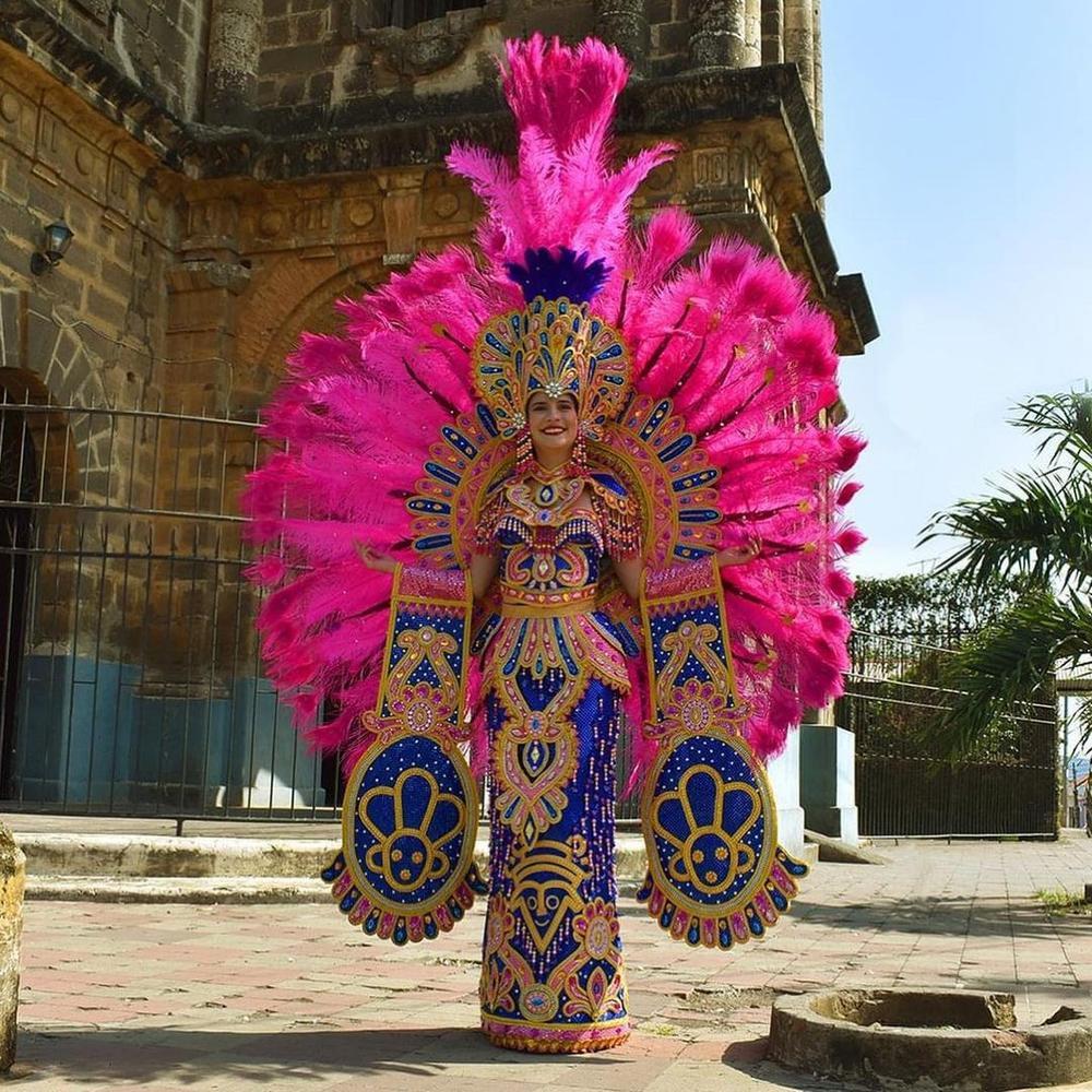 National Costume Hoa hậu Hòa bình: Indonesia - Thái Lan quá độc đáo, Guatamala hoành tráng Ảnh 9