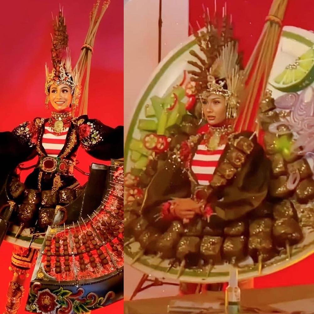 National Costume Hoa hậu Hòa bình: Indonesia - Thái Lan quá độc đáo, Guatamala hoành tráng Ảnh 4