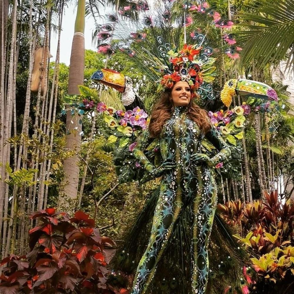 National Costume Hoa hậu Hòa bình: Indonesia - Thái Lan quá độc đáo, Guatamala hoành tráng Ảnh 10