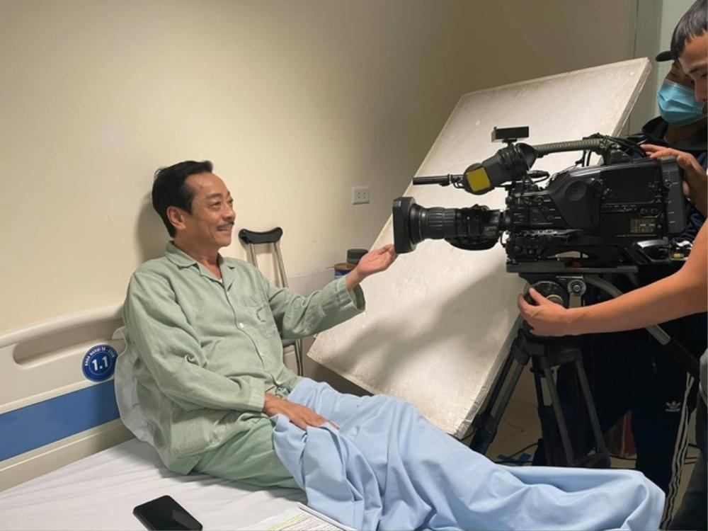 Nghệ sĩ Trung Anh đảm nhân vai của NSND Hoàng Dũng trong 'Trở về giữa yêu thương' Ảnh 3
