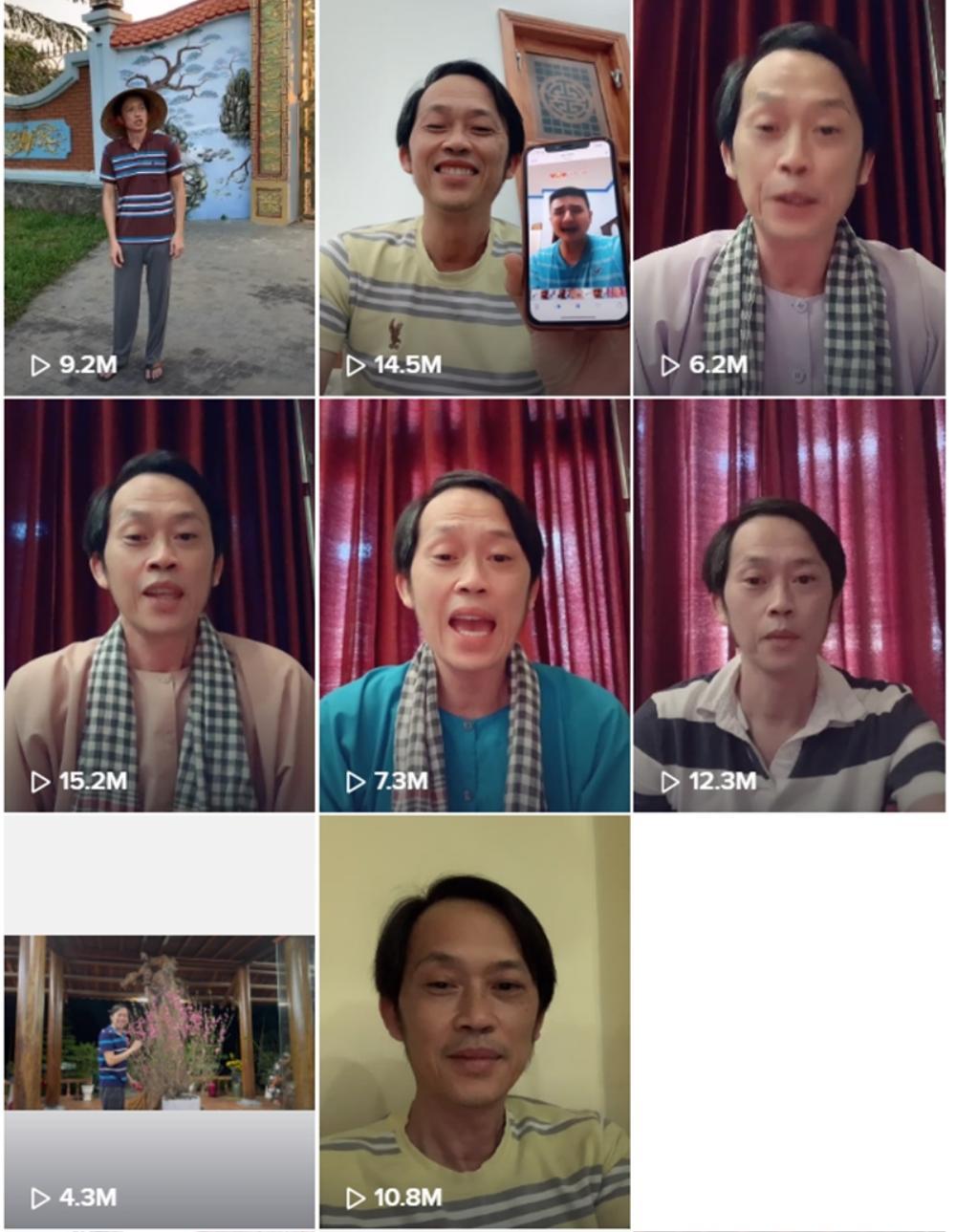 1 tuần lập TikTok, Hoài Linh hốt 100 triệu view, bỏ xa Sơn Tùng - Hương Giang: Đẳng cấp danh hài quốc dân Ảnh 2