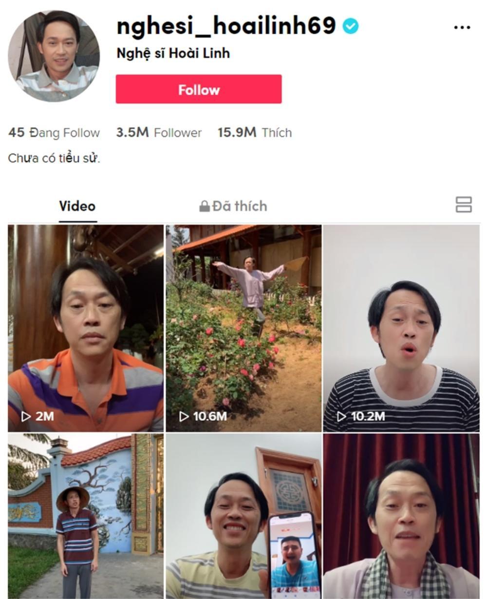 1 tuần lập TikTok, Hoài Linh hốt 100 triệu view, bỏ xa Sơn Tùng - Hương Giang: Đẳng cấp danh hài quốc dân Ảnh 1