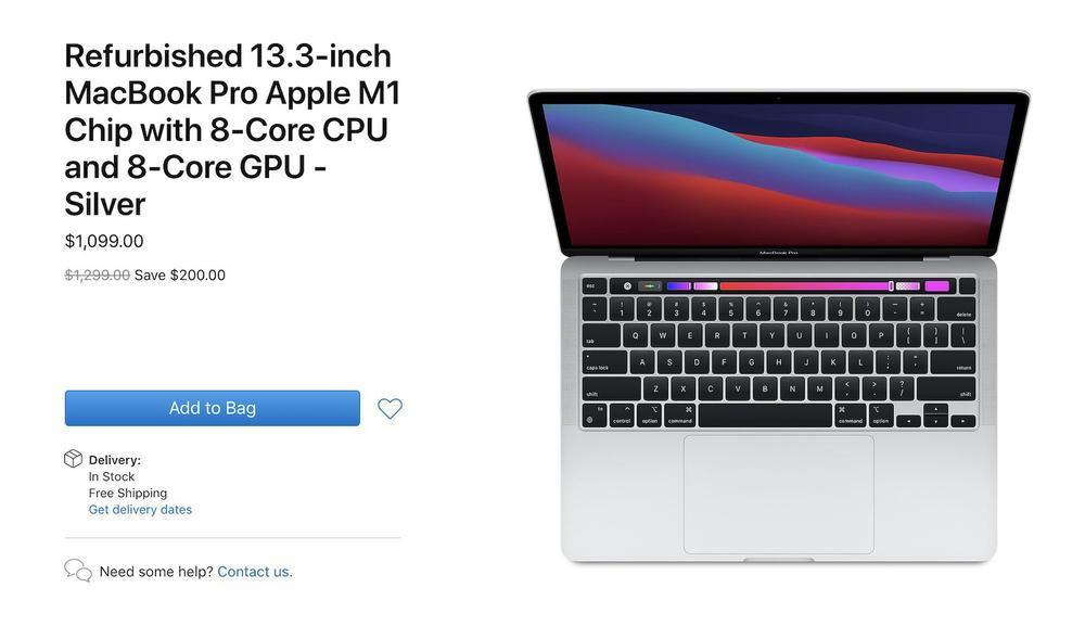 Apple bất ngờ bán MacBook Pro M1 phiên bản giá rẻ hơn 15%, vẫn được bảo hành như máy mới Ảnh 2