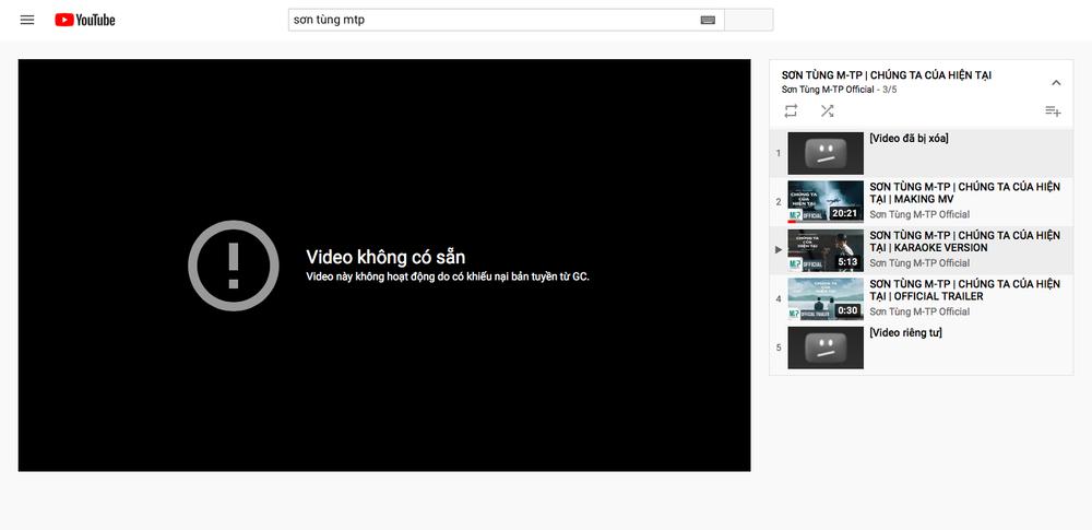 MV Chúng Ta của hiện tại bị gỡ khỏi YouTube, Sơn Tùng M-TP mất bao nhiêu tiền? Ảnh 2