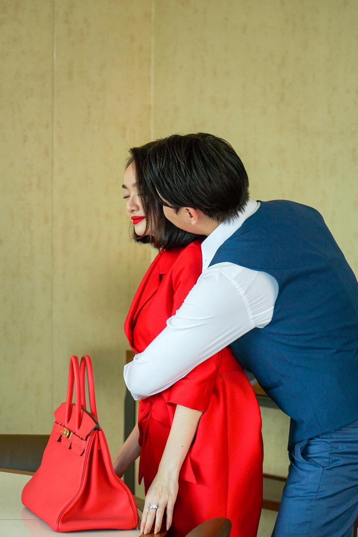 Những cảnh nóng đỏ mặt của Kaity Nguyễn trong 'Gái già lắm chiêu V' Ảnh 17
