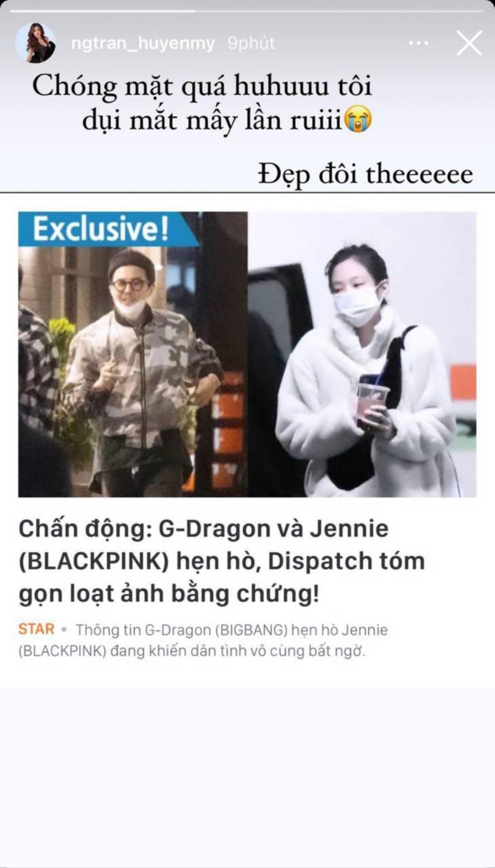 Huyền My, Tóc Tiên chúc mừng G-Dragon - Jennie vì đang hẹn hò, 'đáng thương' nhất là Diệu Nhi Ảnh 2