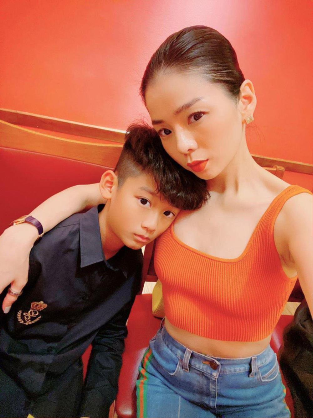 Dân mạng bất ngờ phát hiện mối quan hệ đặc biệt giữa Lâm Bảo Châu và con trai Lệ Quyên Ảnh 6