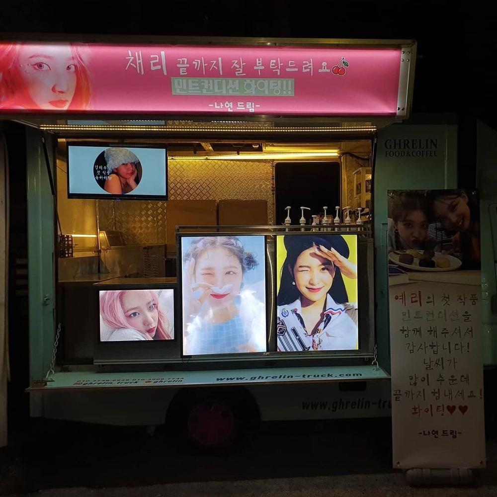 Nayeon (Twice) âm thầm gửi tặng xe cafe cho Yeri (Red Velvet): Chị em tốt là đây Ảnh 3