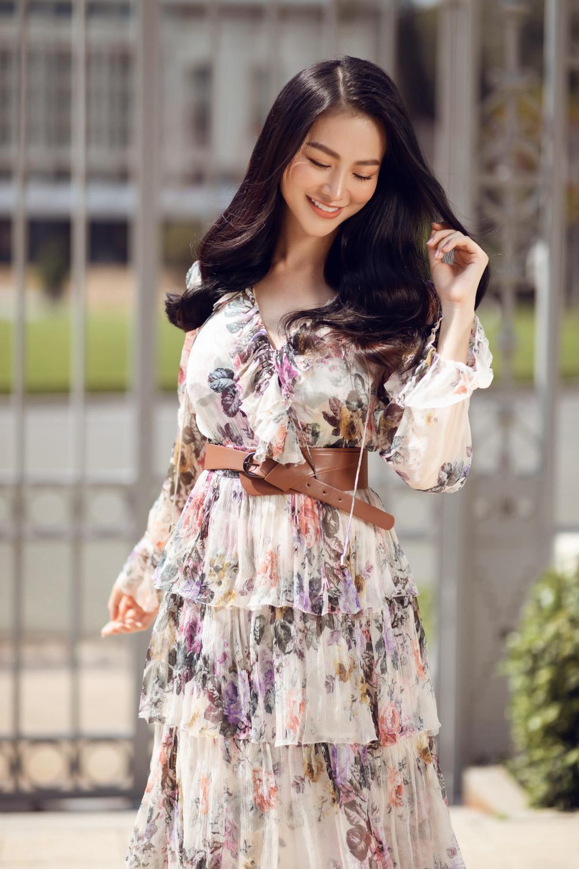 Hoa hậu Phương Khánh tái xuất đẹp mê hồn sau thời gian 'bốc hơi' Vbiz, dính tin đồn có bầu Ảnh 1