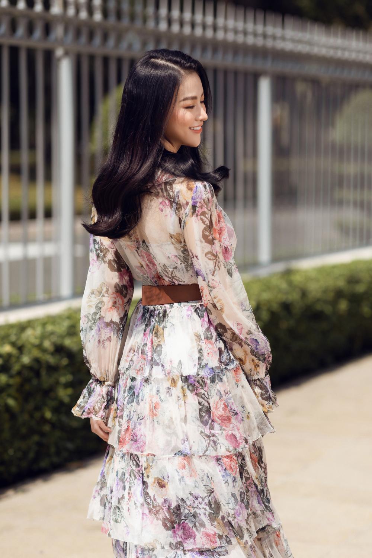 Hoa hậu Phương Khánh tái xuất đẹp mê hồn sau thời gian 'bốc hơi' Vbiz, dính tin đồn có bầu Ảnh 3