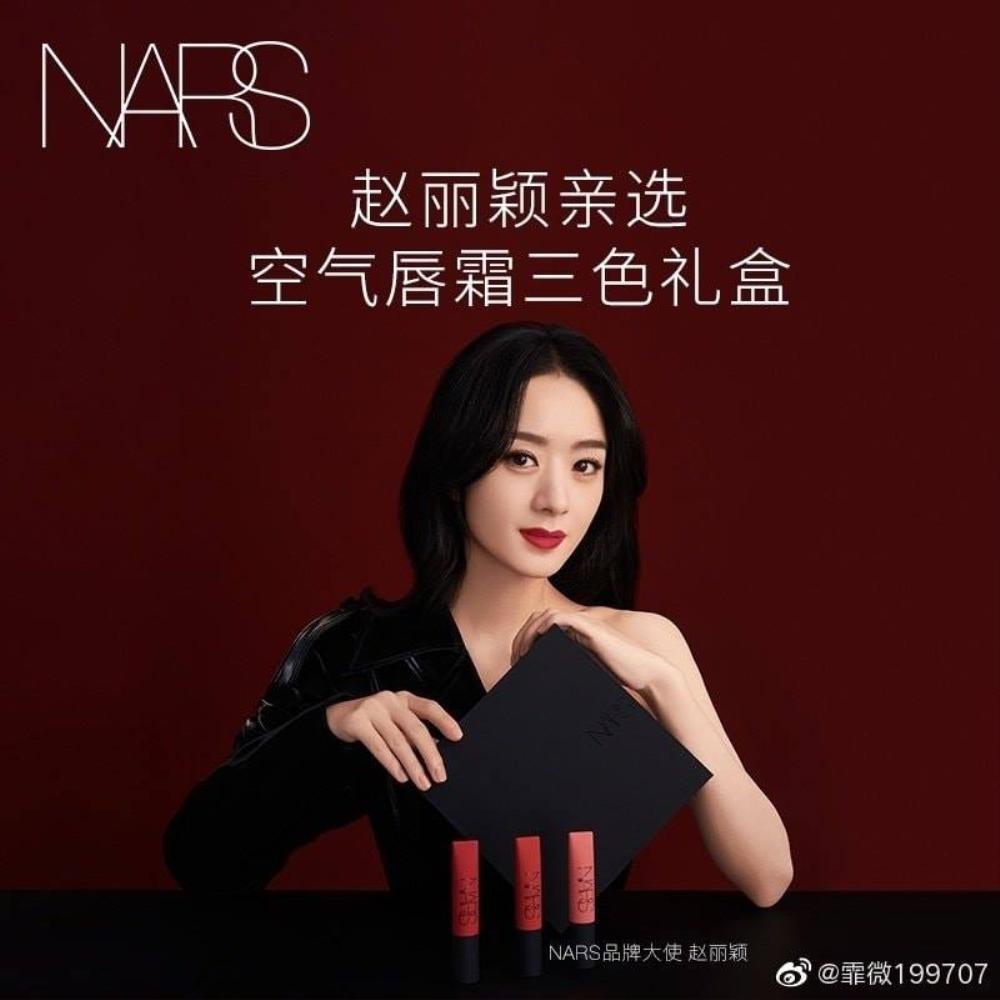 Triệu Lệ Dĩnh làm đại sứ mỹ phẩm, dân tình ùa vào chê bai sao makeup giống 'ma nữ' thế Ảnh 1