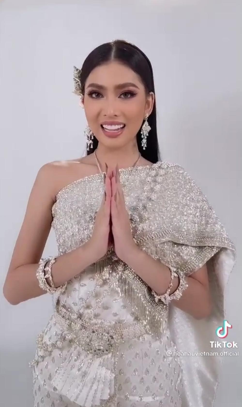 Ngọc Thảo được fan Thái khen tới tấp: Hài lòng nước chủ nhà, đẹp hơn cả hoa hậu Philippines Ảnh 1