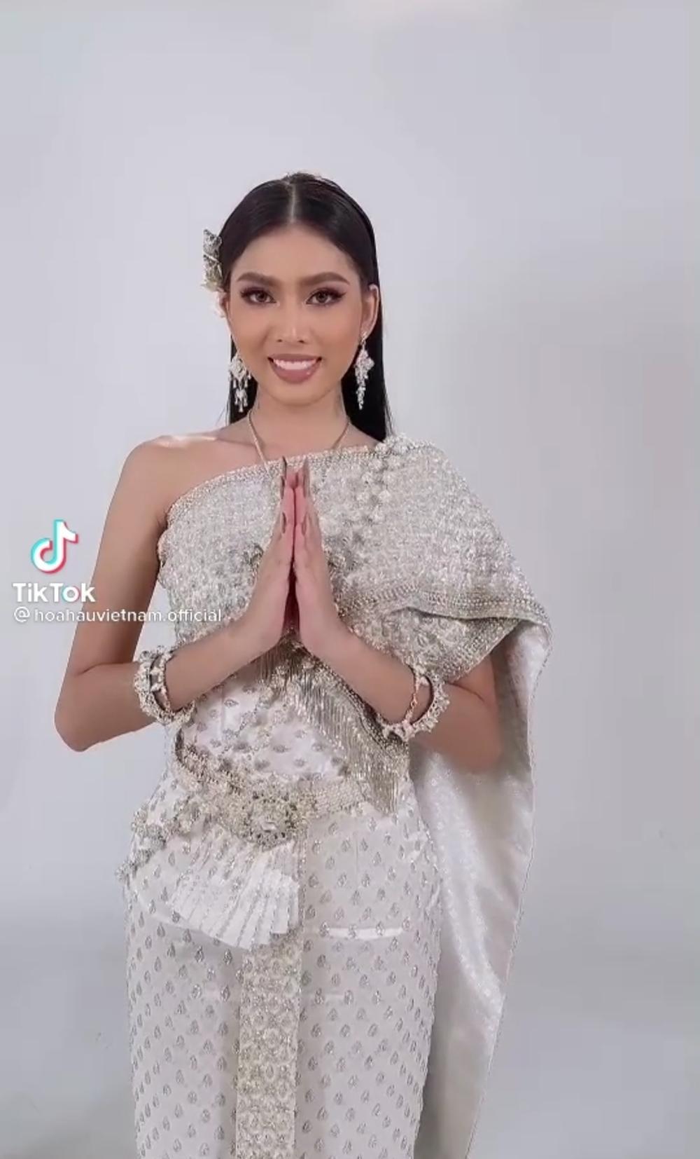 Ngọc Thảo được fan Thái khen tới tấp: Hài lòng nước chủ nhà, đẹp hơn cả hoa hậu Philippines Ảnh 2