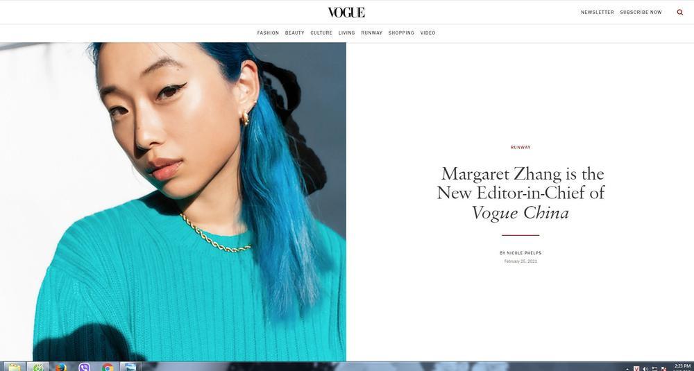 Tổng biên tập tạp chí Vogue Trung Quốc chỉ mới 28 tuổi gây tranh cãi trên mạng xã hội Ảnh 2