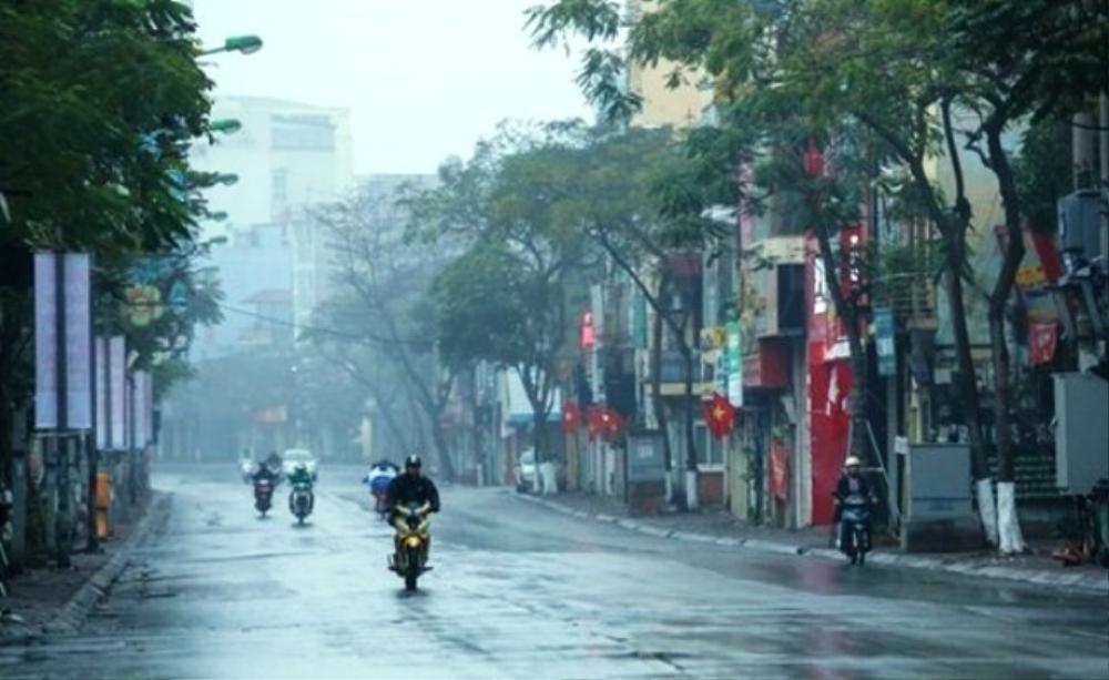 Chiều tối và đêm mai, miền Bắc đón không khí lạnh gây mưa rét Ảnh 1