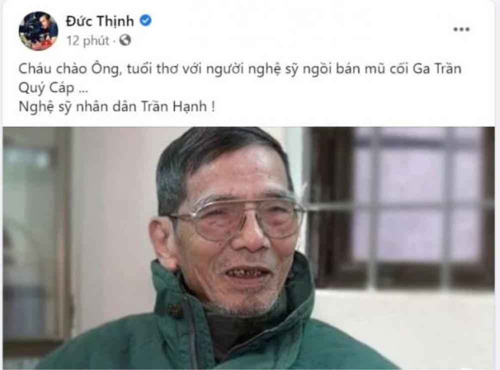 NSND Công Lý, NSƯT Chiều Xuân và loạt sao Việt tiếc thương trước sự ra đi của NSND Trần Hạnh Ảnh 4