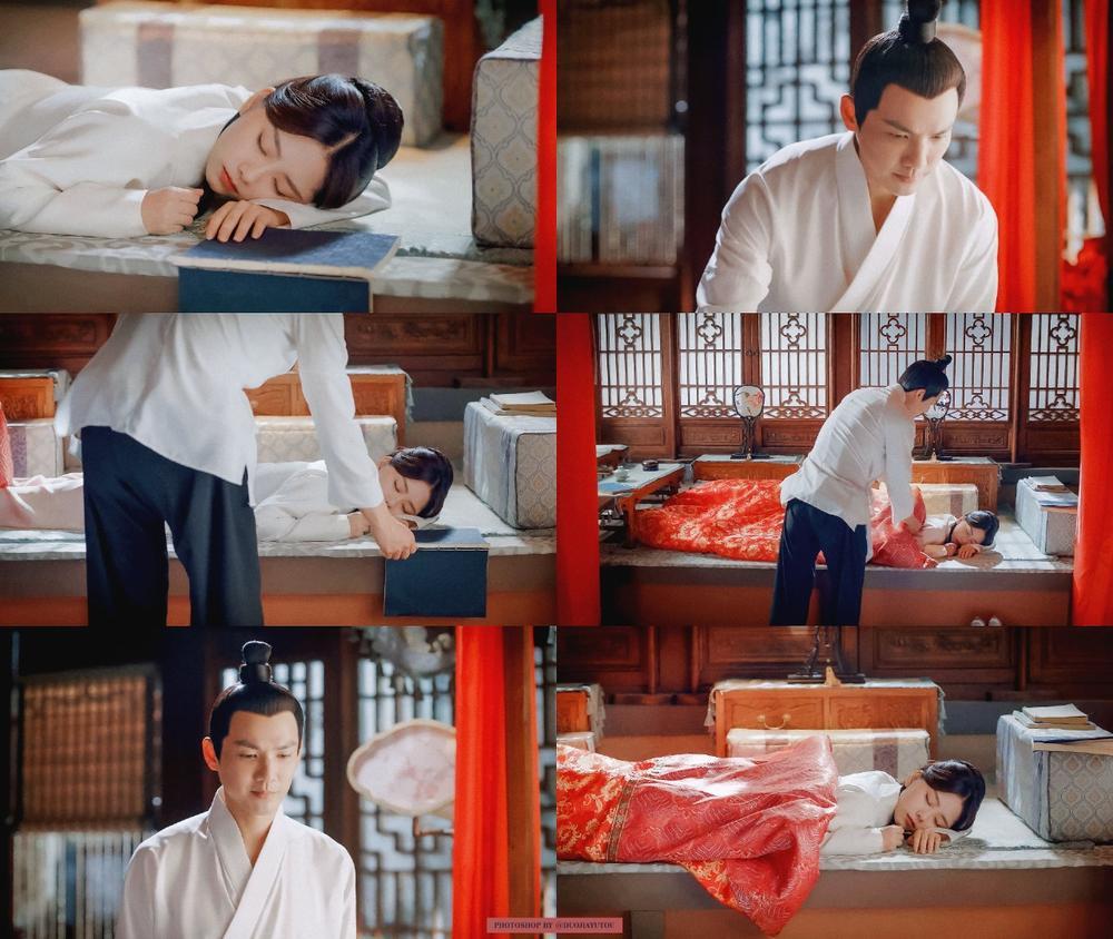 Bị Chung Hán Lương cưỡng hôn, Đàm Tùng Vận khóc nghẹn: 'Cẩm tâm tựa ngọc' đến hồi ngược luyến! Ảnh 2