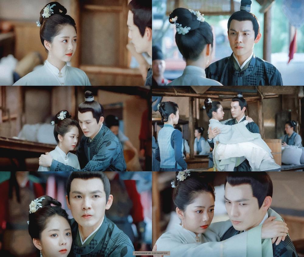 Bị Chung Hán Lương cưỡng hôn, Đàm Tùng Vận khóc nghẹn: 'Cẩm tâm tựa ngọc' đến hồi ngược luyến! Ảnh 4