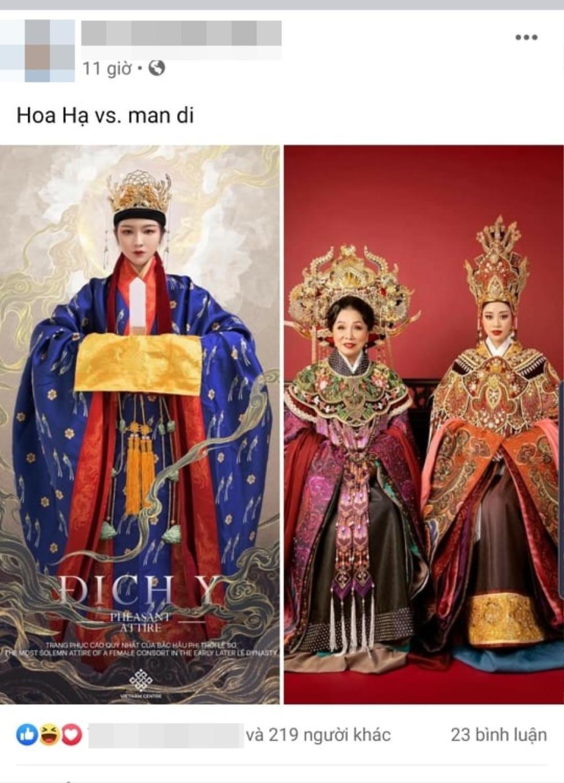 Trang phục Dương Vân Nga của Hoa hậu Khánh Vân bị fan chê tơi tả Ảnh 5