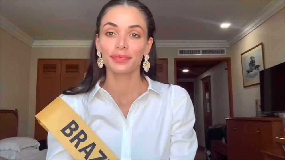 Phần thi mặt mộc Miss Grand: Ngọc Thảo rạng rỡ dù không son phấn, đối thủ Indonesia make-up quá đà Ảnh 8